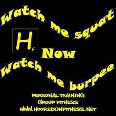#Squats or #Burpees?  Which one do you love more?? #HookedOnFitness #GroupFitness Another shot from #HookedOnFitness