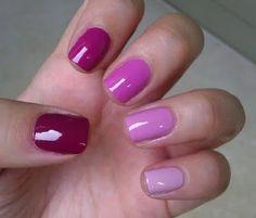 Purple+Nails | Purple Ombre Nails Picture & Image | tumblr