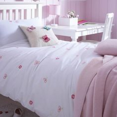 Are You Interested In Our Girls Butterfly Bedding? With Our Butterfly  Embroidered Bed Linen You Need Look No Further.