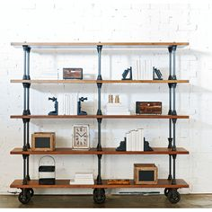 Sheffield 5 Tier Bookcase | Domayne