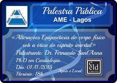 AME-Lagos Convida para a sua Palestra Pública - Cabo Frio - RJ - http://www.agendaespiritabrasil.com.br/2015/10/27/ame-lagos-convida-para-a-sua-palestra-publica-cabo-frio-rj/