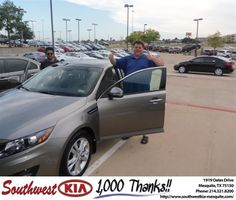 #HappyBirthday to Keith Watson from Jerry Tonubbee at Southwest Kia Mesquite!