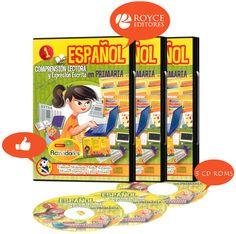 Español Comprensión Lectora y Expresión Escrita en Primaria 3 CD ROMs. Más información en www.placismo.com