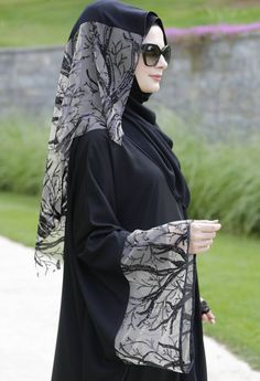 Latest-abaya-and-gowns-designs-for-Muslim-girls-2017-18-1.jpg (736×1077)