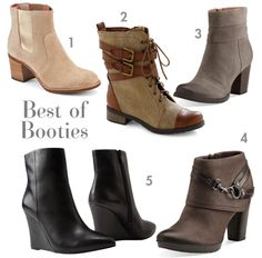 Best of Booties | Fall Fashion 2013