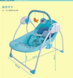179.99$  Buy here - http://ali839.worldwells.pw/go.php?t=32583741726 - Free shipping 2016 hot sale electric baby swing chair musical baby bouncer swing newborn baby swings automatic baby swing rocker