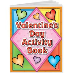 Perfect for adding in a bit of curriculum to your celebration!  Valentines Day Mini Activity Books