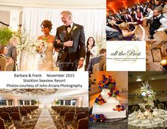 Stockton Seaview Ballrooms turned into gorgeous ceremony and party spaces by Magnolia Floral Designs. Photos courtesy of John Arcara Photography Wedding Coordinator, Wedding Planner, Destination Wedding, Stockton Seaview, Ballrooms, Floral Designs, Celebrity Weddings, Corporate Events, Magnolia
