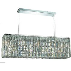"""Maxime 44"""" Crystal Chandelier with 8 Lights"""