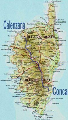 Le GR20 : Calenzana-Conca