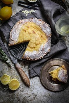 Twigg studios: lemon and vanilla creme patissiere brioche tart