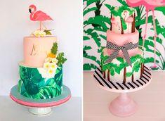 15 bolos com flamingo para a festa de 15 anos - Constance Zahn | 15 anos