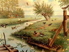 'In de Weide' by van M.A. Koekkoek (1873-1944)- Amsterdam