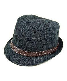 Look what I found on #zulily! Black Knit Fedora #zulilyfinds