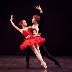 Miko Fogarty and Sam Zaldivar performing at YAGP's Ballet Grand Prix Tour in New Bedford, MA. Photographer Liza Voll