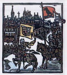 King Matthias Corvinus entering Vienna on June 1485 after besieging the city during four months Matthias Corvinus, Hungary History, Vlad The Impaler, Black Armor, Raven King, Father John, 15th Century, World History, Reign