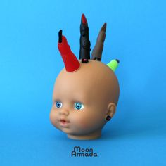 The demonic musical Baby Bots of Moon Armada - CDM Create Digital Music Baby Bot, Making Musical Instruments, Demon Baby, Sound Art, Baby Head, Doll Head, Puppets, Inventions, Baby Dolls