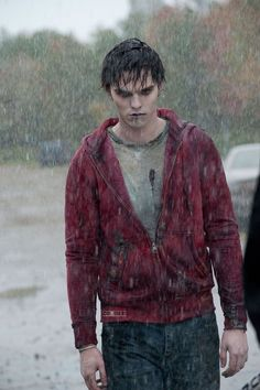 "R from Warm Bodies :D (Nicholas Hoult) When R went searching for his lady love, I became emotional. I Loved This Movie ""Warm bodies"" Nicholas Hoult, Teresa Palmer, Warm Bodies Movie, Cute Zombie, John Malkovich, Body Picture, Entertainment, Movie Characters, Fictional Characters"