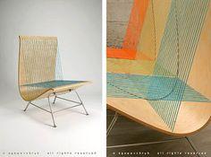 Design de Móveis: String Chair