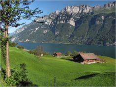 Walensee, Switzerland... Book your holiday now via www.nemoholiday.com or simply visit switzerland.superpobyt.com