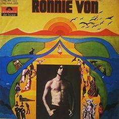 """""""Ronnie Von"""", Ronnie Von. Polydor, 1969."""