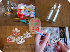 michele made me: Junkmail Snowflakes - Possibility #2