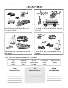 transportation crafts for toddlers | BILINGUAL AL-YUSSANA: MEANS OF TRANSPORT: ACTIVITIES