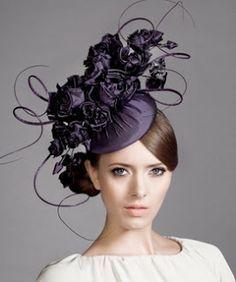 Winter White Hat for Women -1940s Fashion Hat - Wedding Hat ... #HatsForWomenFancy