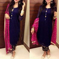 Velvet Outfits Custom Made Pakistani Dress Design, Pakistani Dresses, Indian Dresses, Indian Outfits, Simple Dresses, Casual Dresses, Fashion Dresses, Velvet Dress Designs, Indian Bridal Fashion