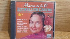 ESTRELLITA CASTRO. MARÍA DE LA O. EDICIÓN RACK. CD / DIVUCSA - 1992. 10 TEMAS / PRECINTADO.
