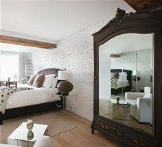 Wunderbar Mirror In The Bedroom. Spiegel BettInnendekorationKleine ...