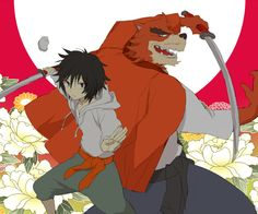 The Boy and the Beast #Kumatetsu #Kyuta (by はに)