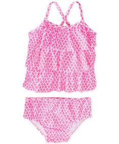 Carter's Baby Girls' 2-Piece Anchor Tankini Swimsuit