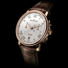 BLANCPAIN Villeret Collection the Chronographe Pulsomètre A brand-new Chronographe Pulsomètre (See more at En/Fr/Es: http://watchmobile7.com/articles/blancpain-villeret-collection-chronographe-pulsometre) #watches #montres #relojes #blancpain