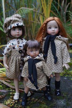 Tenues LOT DE 3 OUTFIT ONLY poupée Little Darling Dianna Effner + boneka