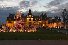 ♥ The Biltmore House ... Christmas by Candlelight - Asheville, NC