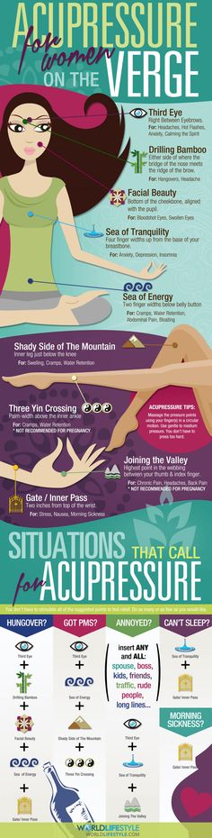 Acupressure Tips  Infographic