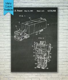 Patent Poster Patent Art Print Patent Print by PatentPosterPrints