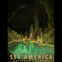 Carlsbad Caverns National Park by Alyssa Winans #SeeAmerica