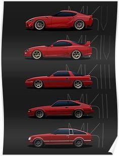 toyota classic cars and collectibles Mk3 Supra, Toyota Supra Mk3, Toyota Mr2, Toyota Corolla, Nissan Silvia, Lexus Cars, Jdm Cars, Honda S2000, Honda Civic