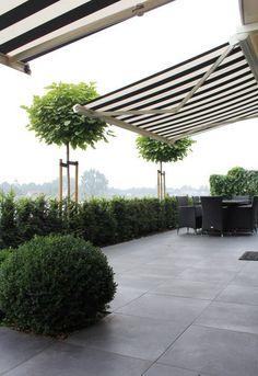 Rock Garden Design, Love Garden, Dream Garden, Garden Front Of House, Home And Garden, Outdoor Spaces, Outdoor Living, Exterior Tiles, Home Landscaping