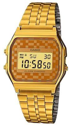 0163b23b09b8 Casio A159WG-9. Casio ClassicWatches For MenGold WatchesBag Accessories UnisexCollectionDigital Wrist WatchCasio WatchVintage