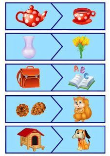 Educational Activities For Kids, Montessori Activities, Kindergarten Worksheets, Preschool Activities, Kids Learning, Puzzles For Kids, Games For Kids, Things That Go Together, Matching Cards