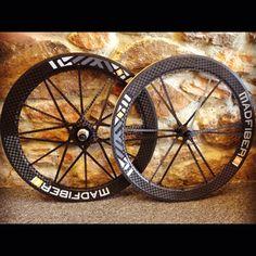 Mad Fiber wheels #cycling
