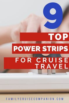 Cruise cabins often have a limited number of power outlets. Sometimes you'll only find one outlet in the main cabin. Skip the challenges of sharing only one or two outlets. With a simple travel power strip or outlet expander, you can add much peace and convenience to your cabin. Check out our list of 9 top travel power strips for cruise ships. You'll find affordable options perfect for you and your family. Packing For A Cruise, Cruise Tips, Cruise Travel, Packing Tips For Travel, Travel With Kids, Family Travel, Carnival Pride, Family Cruise, Royal Caribbean Cruise