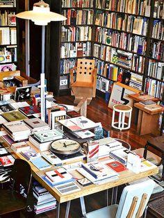 Vintage design Library