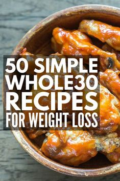 What is the Whole 30 challenge anyway? This simple yet comprehensive Whole 30 Eating Plan offers a complete week 1 kick start guide to help you understand the basic rules, and it includes an easy-to-follow menu plan with delicious recipes to help you get your body back to its healthy, natural state while enjoying serious weight loss results! #whole30 #whole30recipes #whole30diet #whole30dinners #whole30approved #weightloss #cleaneating #diet