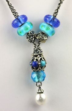 There are so many possibilities when you have a Trollbeads Fantasy Necklace!