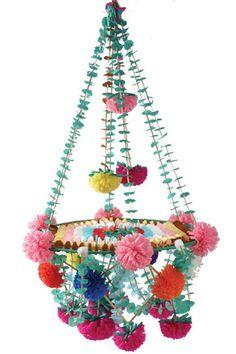 Polish paper chandelier