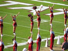 Strength and balance   Mississippi State cheerleading cheerleaders, cupie moved from Kythoni's Cheerleading: Collegiate board http://www.pinterest.com/kythoni/cheerleading-collegiate/ m.38.4 #cheer #KyFun